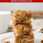 Apple Walnut Cake for Pinterest