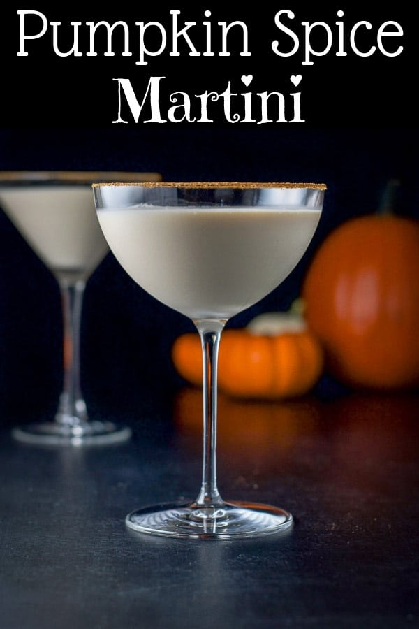This pumpkin spice martini has only 3 ingredients.  Pumpkin spice cream liquor, vanilla vodka and light cream!  It's nicely balanced and perfectly festive! #pumpkin #pumpkinspice #pumpkinspicemartini #cocktail #dishesdelish https://ddel.co/psm