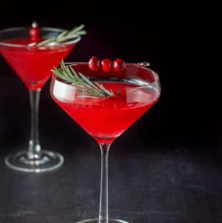 Cranberry Cosmo | Holiday Drink