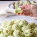 Pistachio Cookies | Cream Cheese Rounds