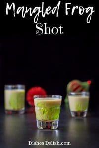 Mangled Frog Shot for Pinterest