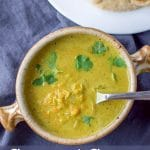 Coconut Curry Lentil Soup for Pinterest
