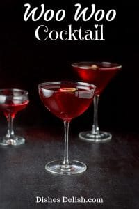 Woo Woo Cocktail for Pinterest