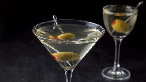Vodka Dirty Martini Recipe