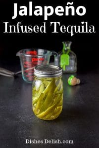 Jalapeño Infused Tequila for Pinterest