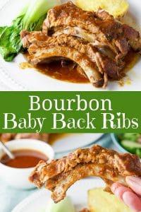Bourbon Baby Back Ribs for Pinterest