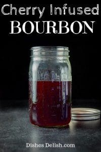Cherry Infused Bourbon for Pinterest