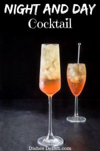 Night and Day Cocktail for Pinterest