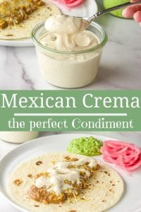 Mexican Crema for Pinterest