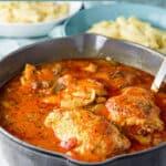Instant Pot Chicken Cacciatore for Pinterest 4