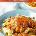 Instant Pot Chicken Cacciatore for Pinterest 5