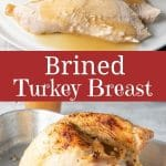 Brined Turkey Breast for Pinterest
