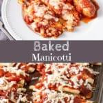Baked Manicotti for Pinterest 3