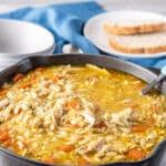 Instant Pot Whole Chicken Soup for Pinterest 3