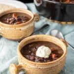 Instant Pot Black Bean Soup for Pinterest 4